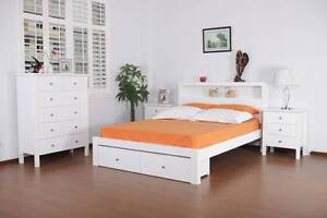 Importer Warehouse Clearance-Hayman Queen Bed with Storage Box Mount Druitt Blacktown Area Preview