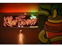 Waiter/waitress (part time): taco & burrito joint, Shepherd's Bush