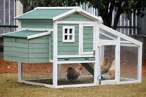 X-LARGE Chicken Coop with Run for up to 6 Chickens - AMY Dandenong South Greater Dandenong Preview