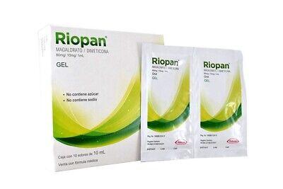 RIOPAN GEL Antiacid Gastritis Heartburn Relief 10C/10ml