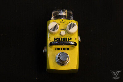 Hotone Skyline KOMP Compressor (discontinued) Guitar Pedal Mini