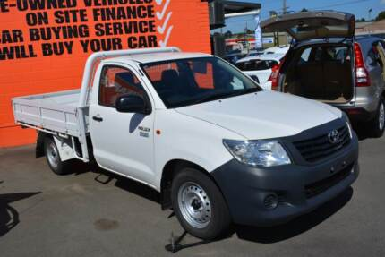 2012 Toyota Hilux Workmate Auto Tray