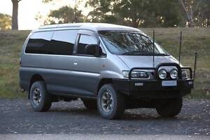 1998 Mitsubishi Delica S2 V6 LWB 7 seats Canberra City North Canberra Preview