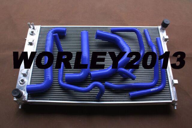 Aluminum radiator + silicone hose for Commodore VY V8 5.7 LS1 02 03 04 manual