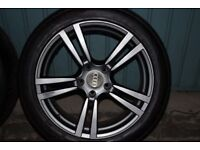 PCD 5x130 X4 Alloys fits: Audi, VW, Mercedes and other.