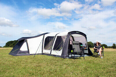 USED ONCE A1 Outdoor Revolution Airedale 12 berth Oxygen Air Tent