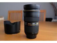 Nikon Nikkor AF G ED 24-70mm f/2.8 IF Lens