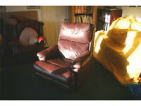 Reclining Chair. Just right for a snooze after Christmas dinner.