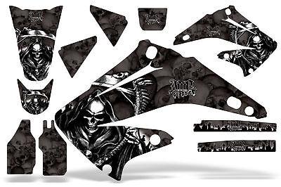 Dirt Bike Graphics Kit Decal Sticker Wrap For Honda CRF450R 2002-2004 REAPER BLK