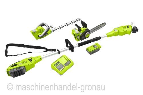 Zipper Akku Gartenpflegeset ZI-GPS40V-Akku