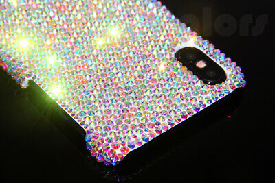 Bling Diamond Case Crystal Cover For iPhone X XR XS Max WITH SWAROVSKI ELEMENTS - Swarovski Crystal Iphone Case