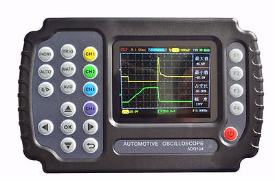 Ado104 Automotive Handheld Digital Storage Oscilloscope 4ch 10mhz 100-240v Usb