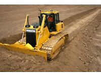 Groundworks & operated plant hire