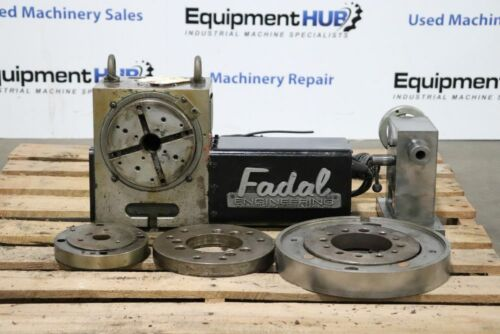 Fadal VH65 4th Axis Rotary Table with Tailstock (New Servo Motor)