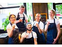 We're Hiring Waiters, Waitresses and Baristas For Our Busy North London Restaurant (Chez Bob)