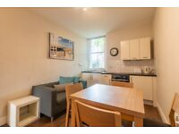 Superb, 1 bedroom, ground floor flat in Sciennes – available immediately