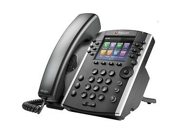 Polycom VVX400 PHONE - POE - NO PSU- Colour Screen Business VoIP Phone