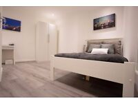 Great ensuite room in a newly refurbished flat available NOW!