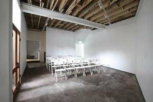 Creative Space for Events, Showings, Exhibitions, Workshops Paddington Eastern Suburbs Preview