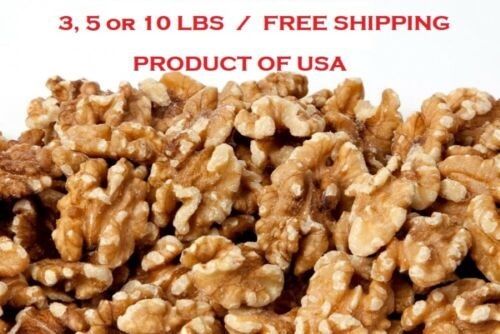 Walnuts Raw Premium Halves & Pieces (NO Shell) 3, 5, or 10 LBS FREE SHIPPING