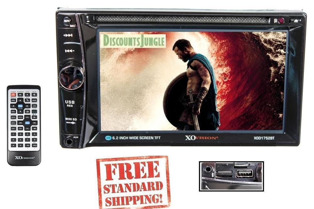 xo xod1752bt multimedia dvd bluetooth