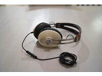 Sennheiser Momentum Over Ear headphone (White / Brown Leather)