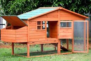 X-Large Chick Coop with Nesting box for 6 Chickens Dandenong South Greater Dandenong Preview