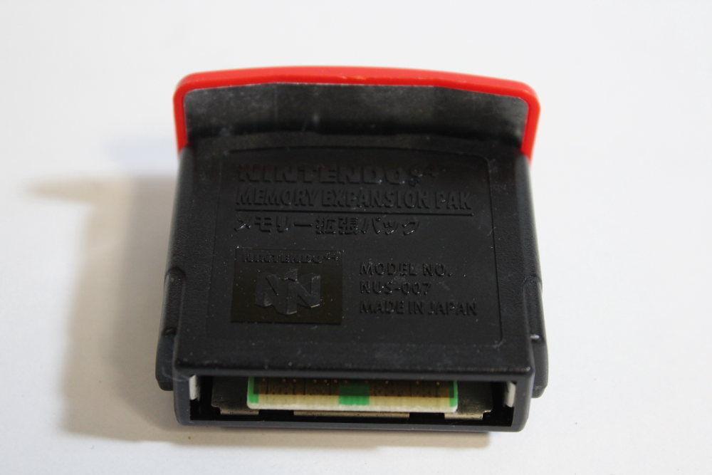 Nintendo 64 N64 Expansion Pack Pak Official NUS-007 for Zelda Donkey Kong TESTED