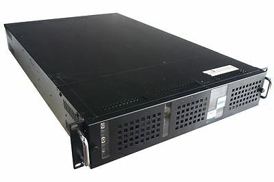 "19"" Rack Mount Case 2U Chassis 2HE Server-Gehäuse IDE Backplane 6x HDD Caddy"