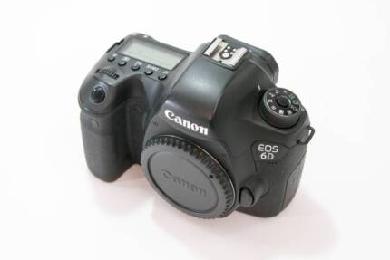 Canon 6D Body in Excellent Condition + Bonus Extra Accessories Meadowbank Ryde Area Preview