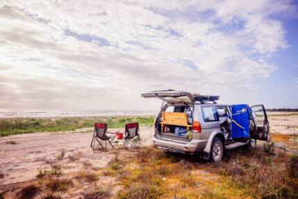 Backpacker Mitsubishi 4WD 4x4 with Bed and Camping Gear Darwin Region Preview