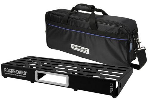 New Rockboard Tres 3.2 Guitar Effects Pedal Board W/Gig Bag
