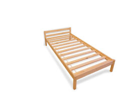 Strong single bed 34£ new, boxed,