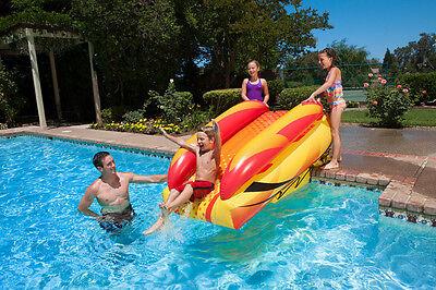 Poolmaster Swimming Pool Inflatable Aqua Launch Slide