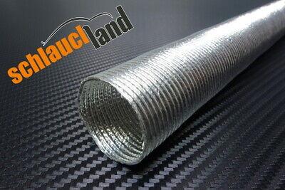 1m Alu-Titan Hitzeschutzschlauch ID 80mm ***Klettverschluss heat sleeve