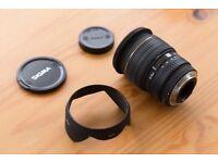 Sigma 24-70mm f2.8 EX Fast Lens For Canon EF Autofocus - With Hood Bag & Caps