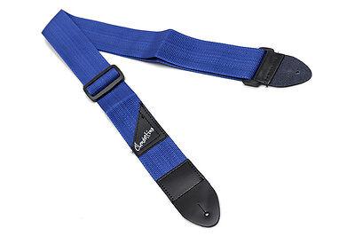 Correa azul para guitarra eléctrica o bajo - Blue Strap for electric...