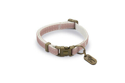 Designed By Lotte Nylon Cat Collar Virante Light Pink 10mm X20-30cm