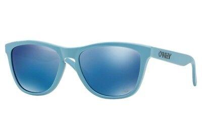 OAKLEY SONNENBRILLE FROGSKINS POLISHED BLUE NEU!!!, gebraucht gebraucht kaufen  Ulm