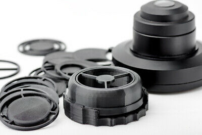 Olympus Microscope Ch-2 Ch2 Condenser Darkfield Polarizing Oblique Insert Set