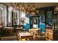 Floor & Bar Staff - Farringdon/Clerkenwell Pub/Restaurant Small award winning Independant pub group