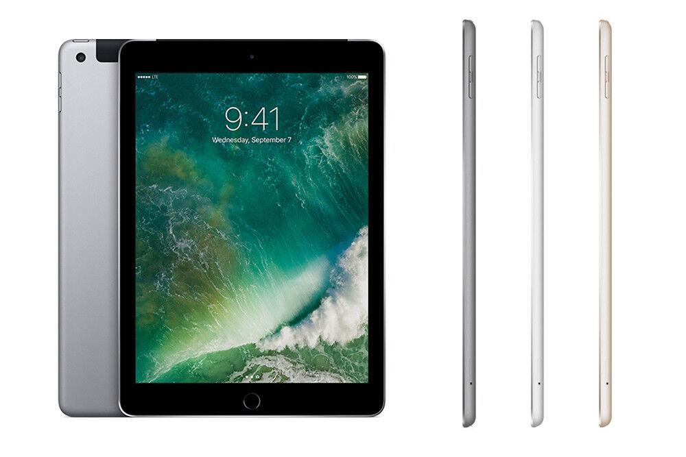 Apple iPad (2017) 4G 32GB Factory Unlocked Brand New+Gift 2 Year Warranty