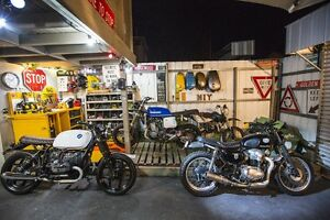 3 X  custom deus style cafe racer tracker scrambler supermoto Ashburton Boroondara Area Preview