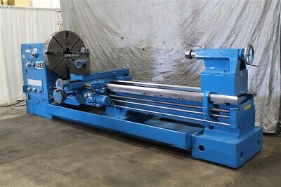 40 X 120 Edelstaal Gap Bed Engine Lathe Yoder 59735