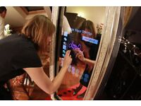 Magic Mirror Photo Booth for hire in Sussex and surrounding areas. Prices from £270