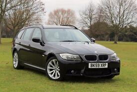 BMW 320D SPORT TOURING AUTOMATIC 1 OWNER FULL BMW HISTORY NEW MOT NO ADVISORY M SPORT ESTATE