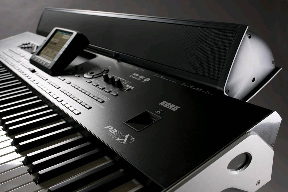 korg pa3x + Bar speaker !!!