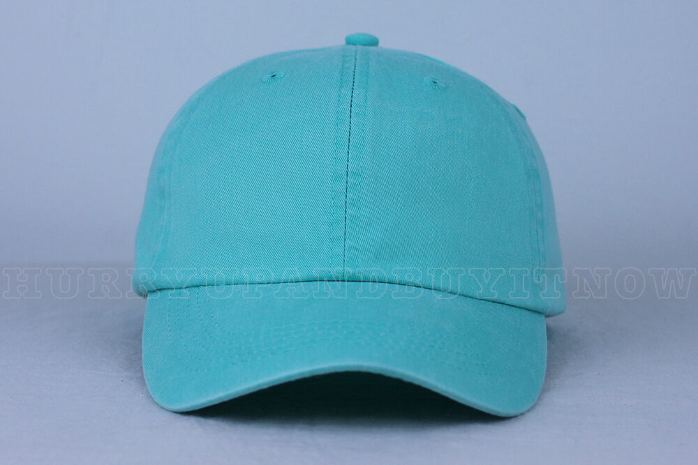 SEAFOAM blank DAD CAP HAT  fashion custom wholesale bulk sty