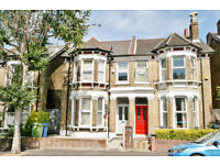 Delightful split level two bedroom period flat on Muschamp Road