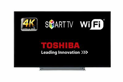 "Toshiba 49V5863DB 49"" Smart LED TV WiFi 4K Ultra HD With Freeview Play HDMI"